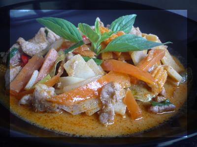 Curry de poulet ou boeuf