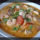 Soupe de Coco aux Crevettes